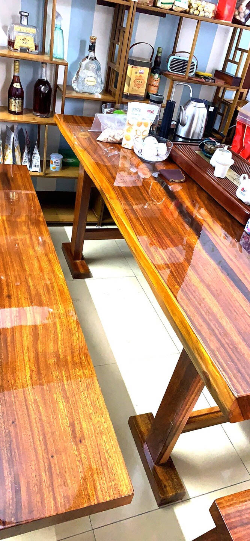 冰阳实木家具桌面保护膜玻璃茶几大理石桌贴膜可移背胶加厚4mil(0.1mm)1.52米x3米