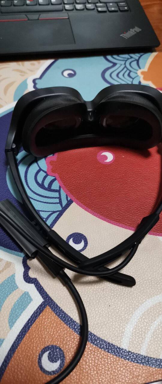 【七天免费试用】华为VRGlassVR眼镜智能成人眼镜手机投屏头戴式体感游戏机3D全景CV10亮黑色【晒单送华为1万毫安充电宝】