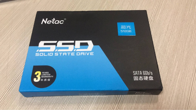 朗科(Netac)512GBSSD固态硬盘SATA3.0接口N550S超光系列电脑升级核心组件三年质保