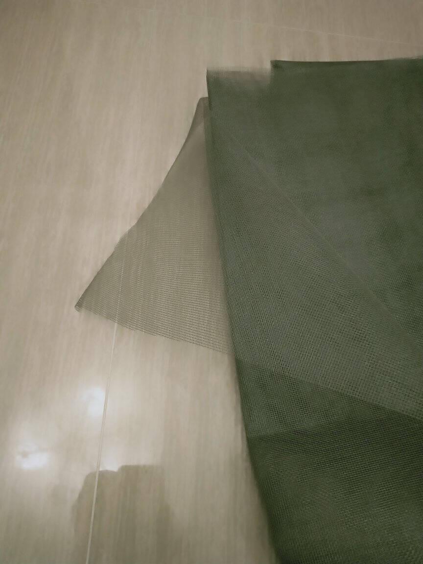 【5米价】家用加密加厚防蚊防虫窗纱纱窗网自装铝合金塑钢窗户纱窗网防尘纱网窗纱网尼白色/长5米1.2米宽