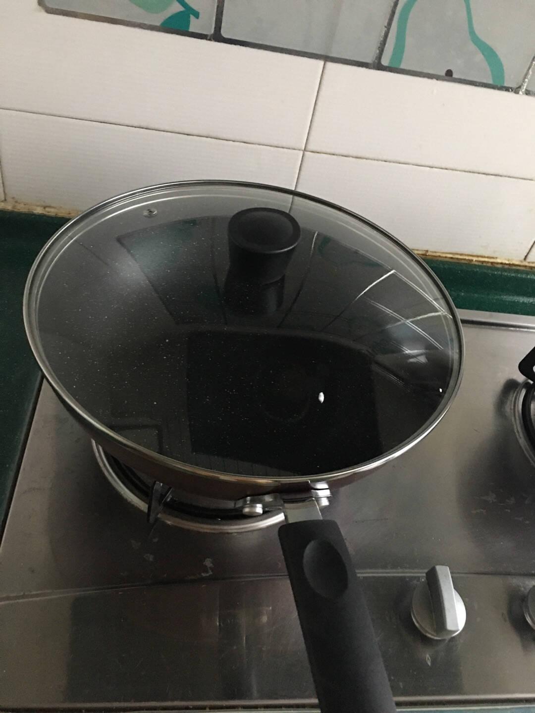 美的锅具套装三件套厨具烹饪组合家用电磁炉燃气通用不粘锅炒锅全套紫色紫色