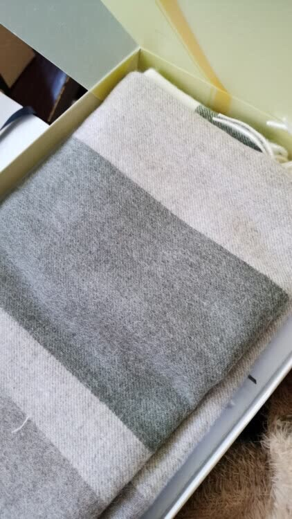 玖慕纯羊毛围巾,送女朋友温暖冬天礼物