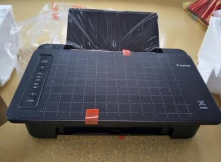 佳能TS308无线家用打印机,给高三同学打印学习资料