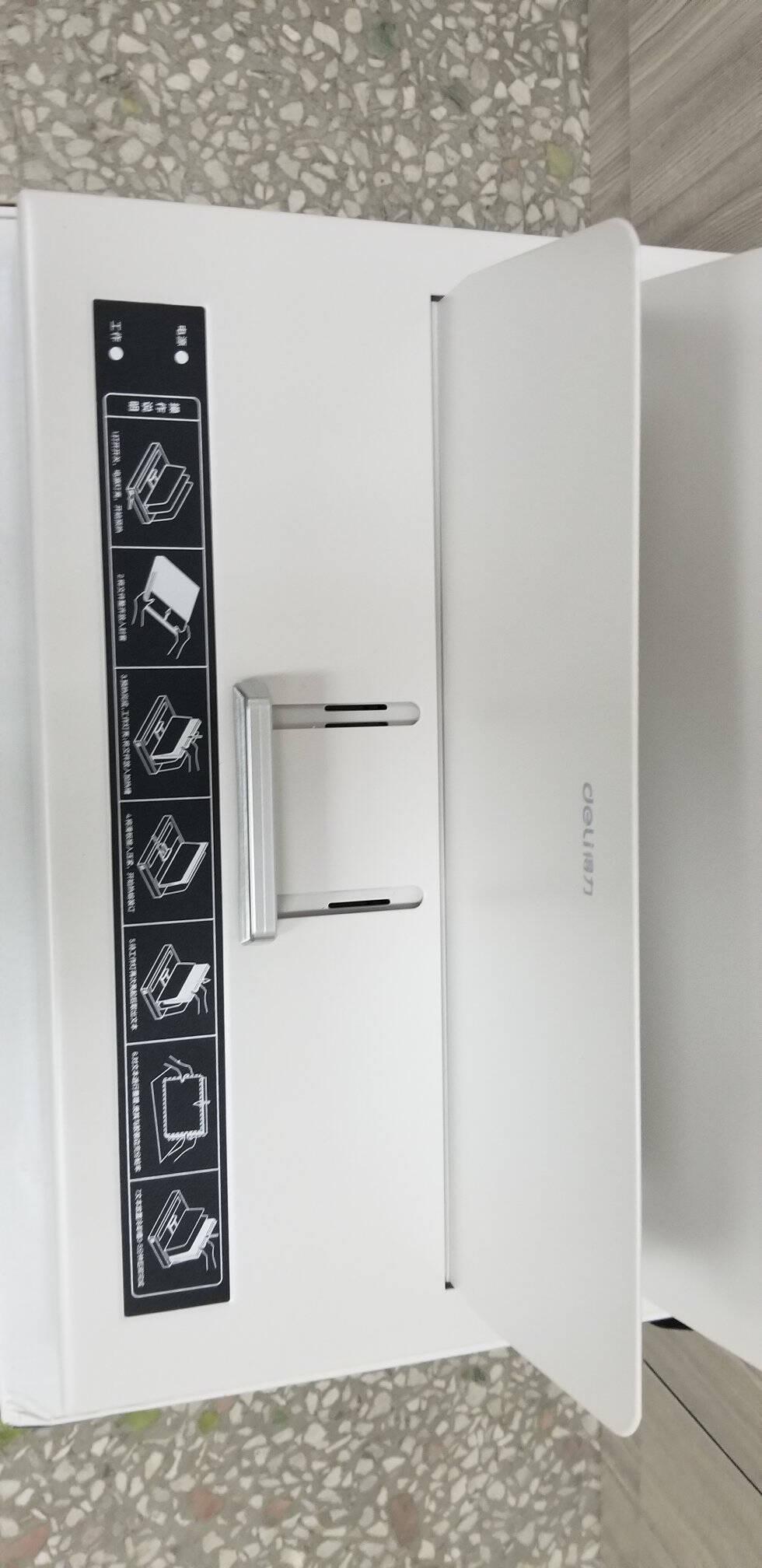 得力(deli)3866热熔封套热熔装订机专用装订封皮A4/4mm(10个装)