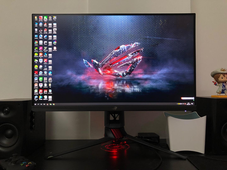 玩家国度27英寸电竞显示器,高端显示器值得选择