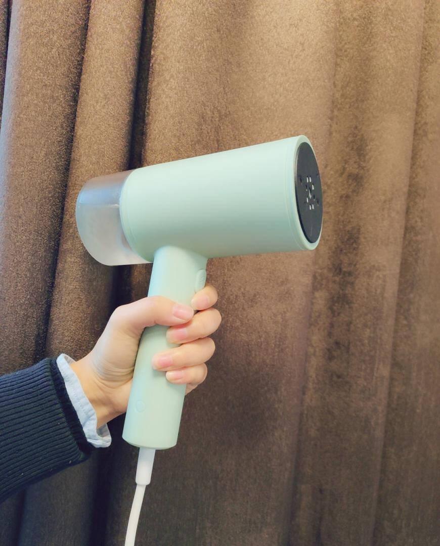 红心(HGONXIN)手持挂烫机家用蒸汽熨斗挂烫小型熨烫机便携式烫斗立式烫衣服绿色