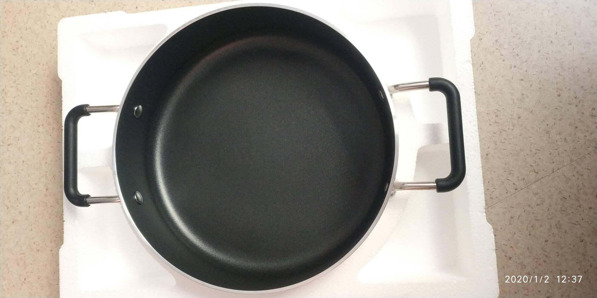 米家小米知吾煮汤锅4L食品级不黏涂层耐腐蚀易清洗26cm大口径煎煮炒炖火锅一锅多用