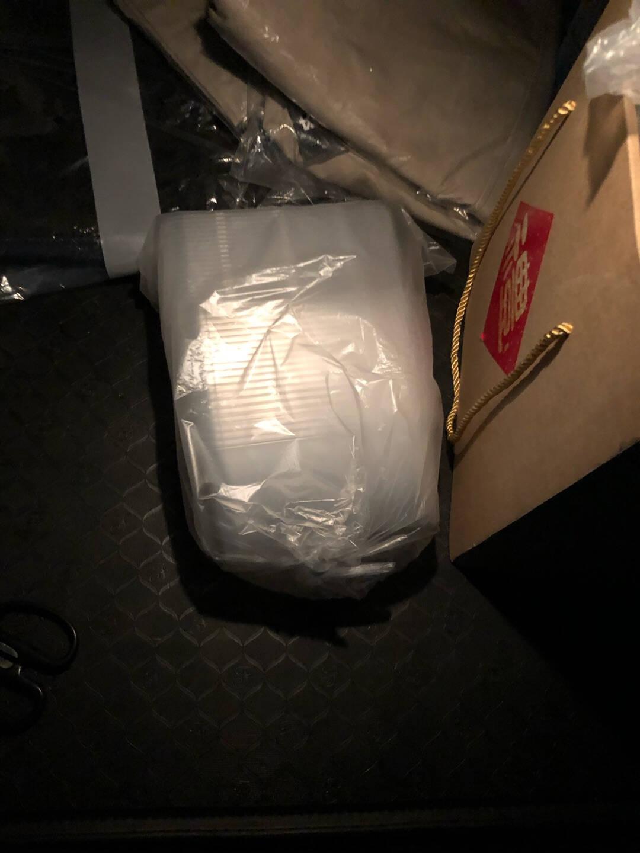 美丽雅圆形一次性餐盒打包盒饭盒快餐盒外卖保鲜盒550ml15套