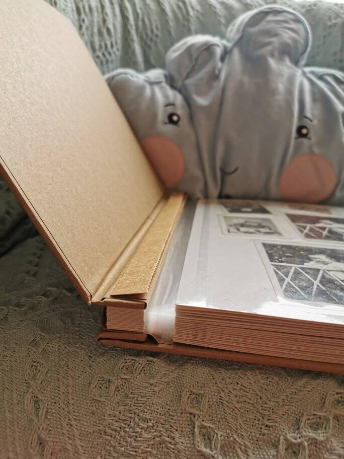 极度空间相册覆膜自粘贴式diy相册簿本青春纪念册家庭影集大容量生日礼物送女生16寸