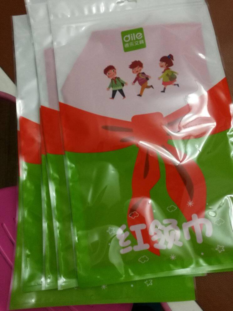 递乐小学生少先队员红领巾布质柔软国标1.2米红领巾学生用品单条装5326