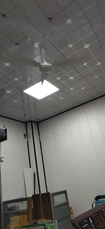 美的(Midea)吊扇48/56寸家用客厅电风扇静音铁叶大风力宿舍工厂楼顶扇FC56白色FC140-BA+无极调速器