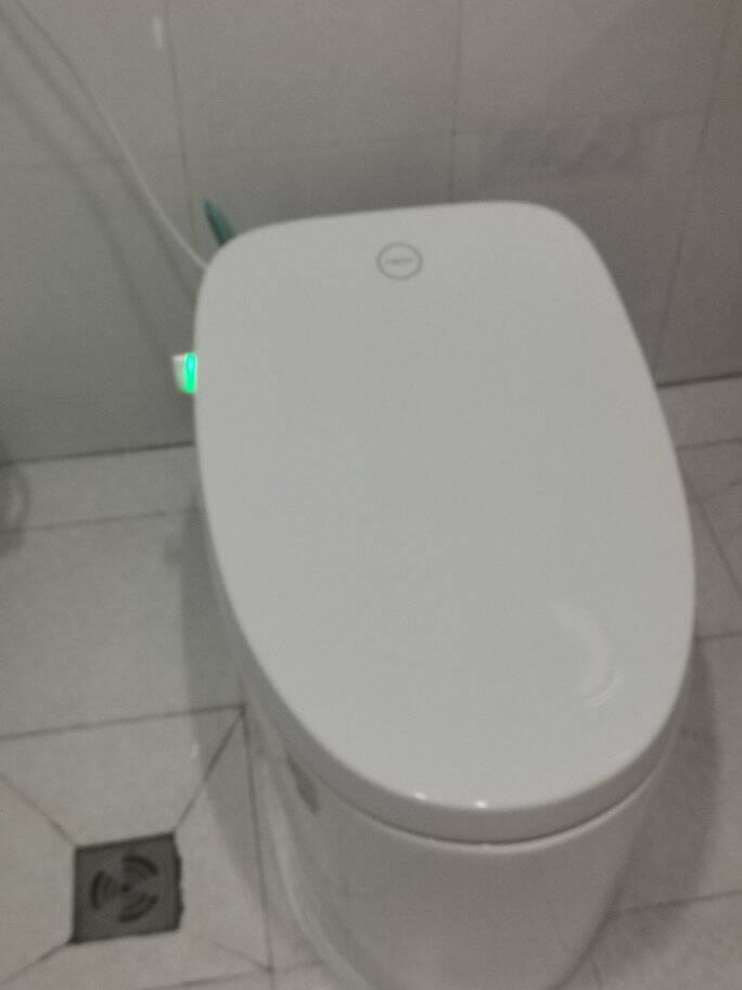 恒洁(HEGII)智能马桶即热式自动冲水无水箱虹吸式多功能遥控烘干电动坐便器HCE823A【六年质保】智能马桶Qi2(现货速发)400坑距
