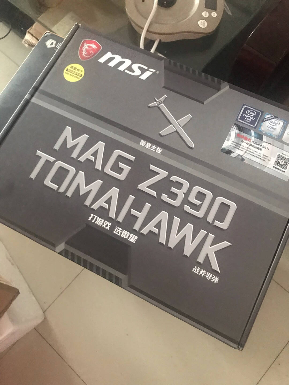 微星(MSI)MAGZ390TOMAHAWK战斧导弹主板支持intel9代CPU9600K/9700K/9900K(IntelZ390/LGA1151)
