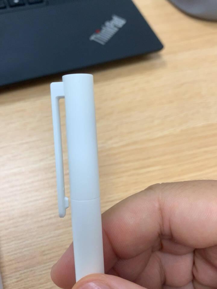 小米巨能写中性笔10支装红色0.5mm商务办公学生中性笔会议笔