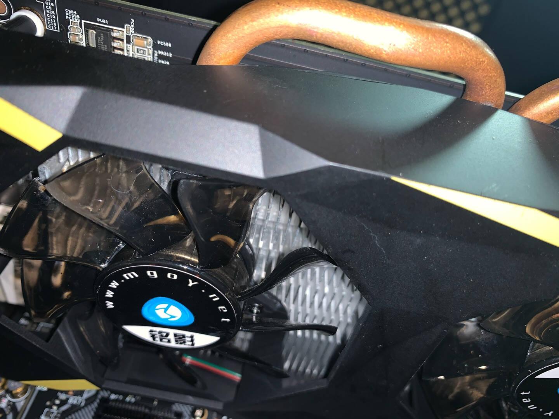 铭影GTX1060系列显卡战将吃鸡游戏显卡台式机电脑显卡gtx1060系列独立显卡GTX10603GBD5战将