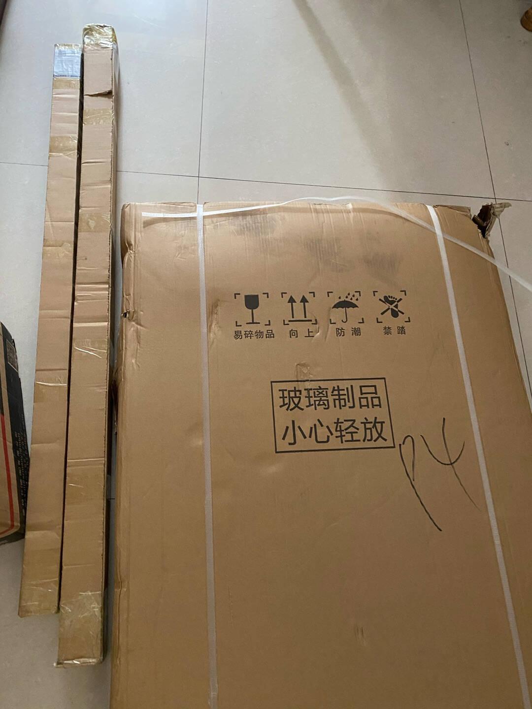 箭牌(ARROW)黑色淋浴房玻璃隔断浴屏整体浴房浴室干湿分离简易一字型形卫生间沐浴房1.15-1.19(1固1活)黑色款到手价1598