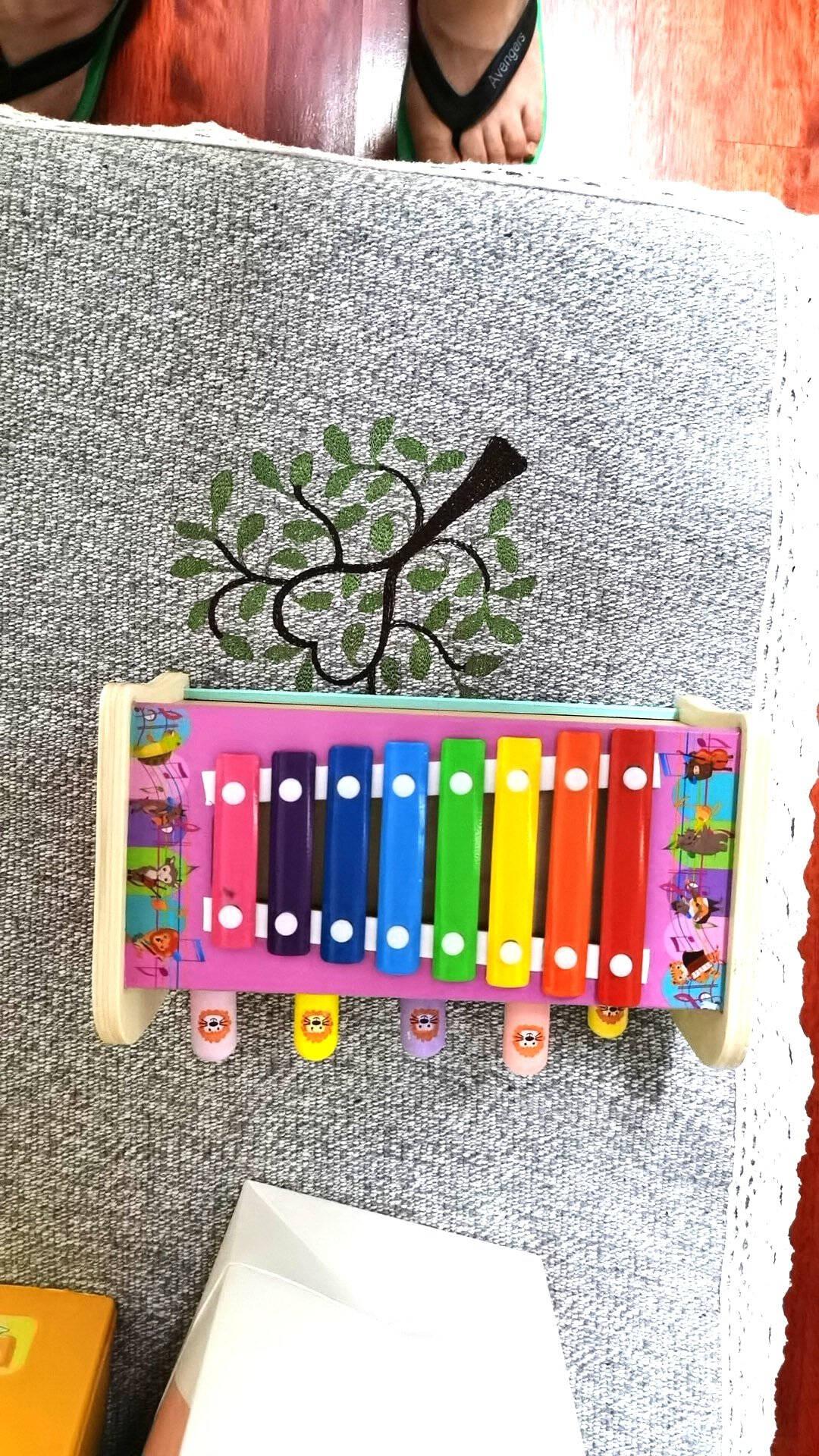 【五合一玩法】儿童玩具男女孩木制双锤打地鼠婴儿玩具一岁宝宝手敲琴音乐乐器钓鱼玩具打地鼠+钓鱼游戏+敲琴+旋转齿轮+抓虫子【五合一】