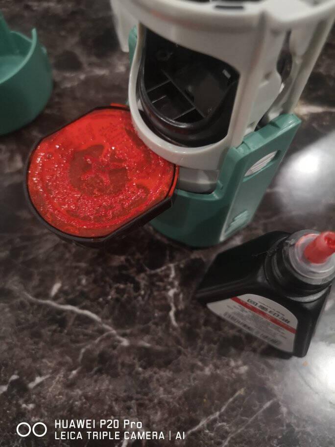 西玛(SIMAA)28ml回墨印油红色回墨印章油9824