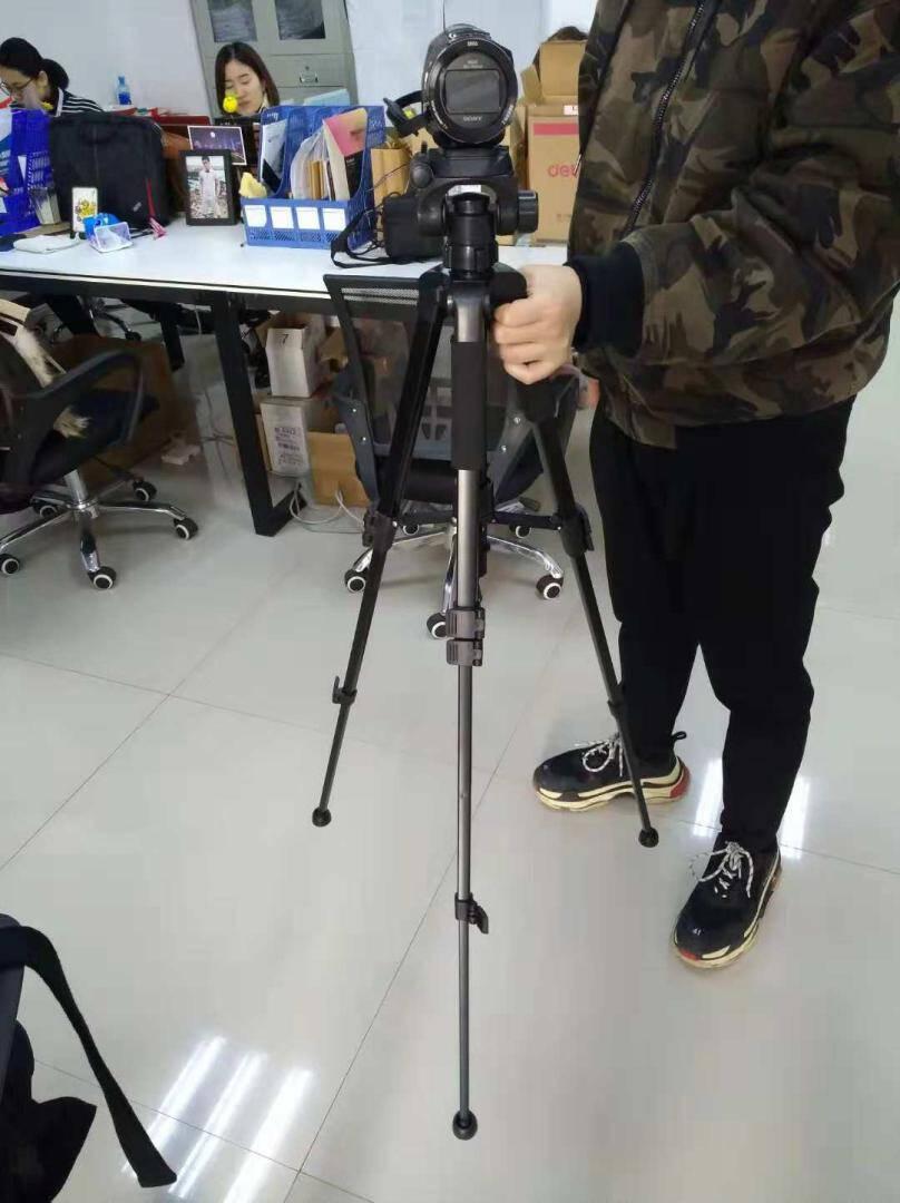 SOMITAST-688相机三脚架相机支架手机三角支架单反微单脚架云台便携三角架手机网红直播支架外出旅行套装