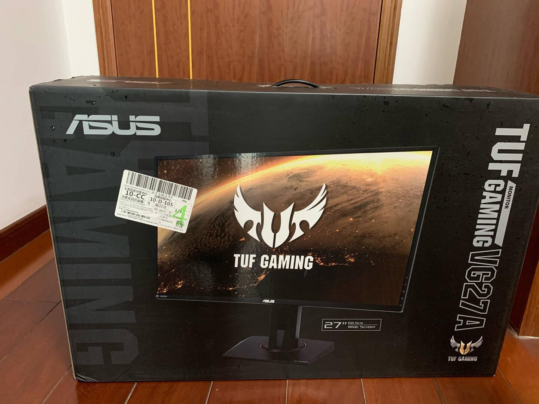 华硕TUFGamingVG27AQ27英寸165Hz显示器2KIPSG-sync兼容HDR电脑显示器电竞显示器电竞小金刚Pro