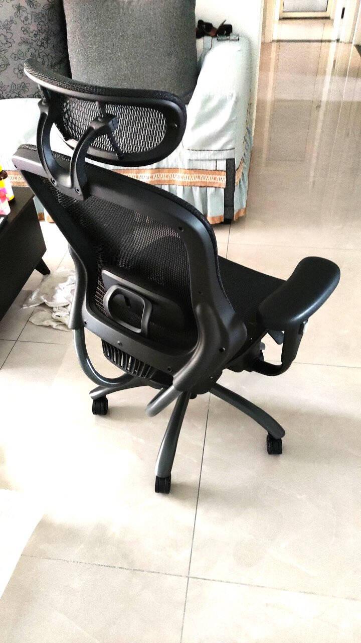 网易严选人体工学椅电脑椅办公椅子电竞椅家用转椅老板椅座椅可躺靠背椅伸缩脚踏升级款