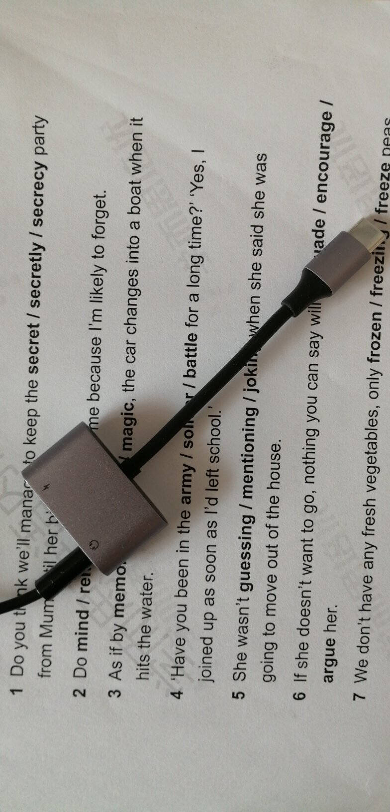 绿联Type-C耳机转接头3.5音频数据线听歌充电二合一转换器转接线通用华为P40小米10一加8手机USB-C转3.5mm二合一转接线