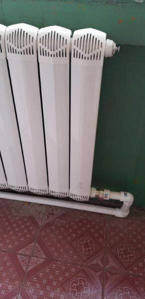 华德华美铜铝复合暖气片家用水暖集中自采暖卧室客厅阳台厨房防熏墙壁挂式散热器85防熏墙一高0.3米