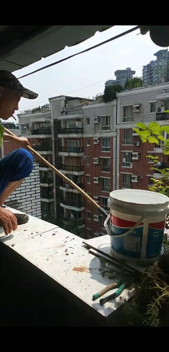 立邦透明防水胶免砸砖防水涂料卫生间窗台防水补漏材料透明堵漏胶300g