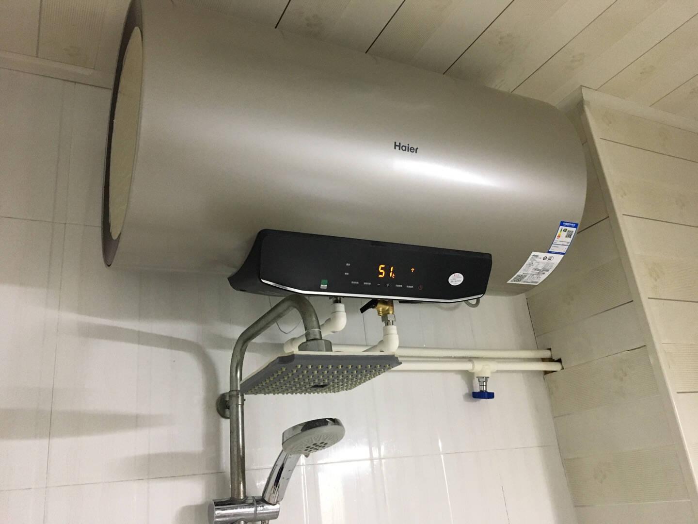 海尔(Haier)80升电热水器3000W双管变频速热健康灭菌一级能效专利安全防电墙EC8002-GC(SJ)