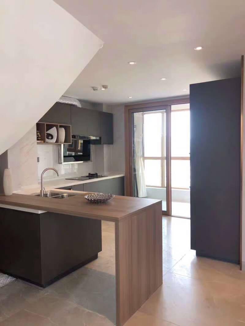 金牌厨柜(GoldenHome)整体橱柜定制枫之木语2厨房厨柜装修橱柜定制金牌橱柜1米地柜+1米台面+0.5米吊柜