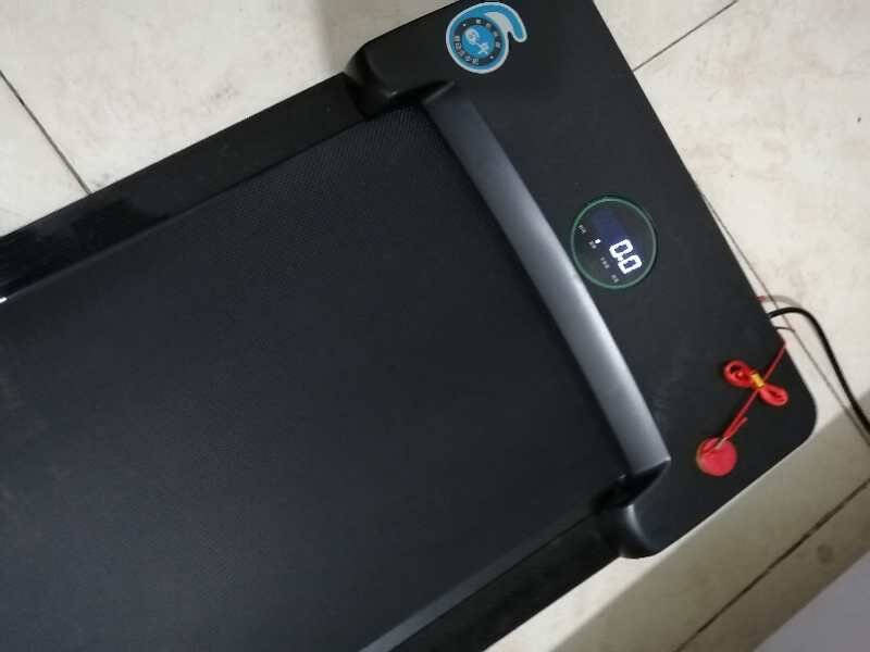 晨动走步机家用电动智能平板跑步机家居折叠静音小型迷你室内运动健身器材豪华版:(遥控操作/承重200斤)4月1日发货