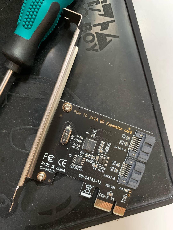 SSU台式机PCI-E转SATA3.0扩展卡SSD硬盘SATA3pcie扩展转接卡6口-SA3026(X4接口)