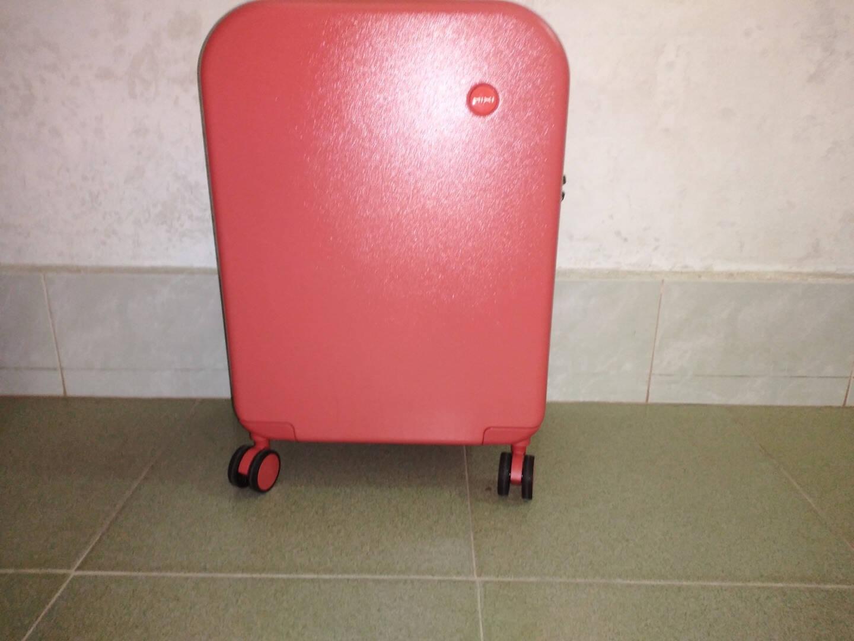米熙高颜值行李箱女拉杆箱24英寸万向轮旅行密码皮箱女20英寸薄荷绿-磨砂防刮9236