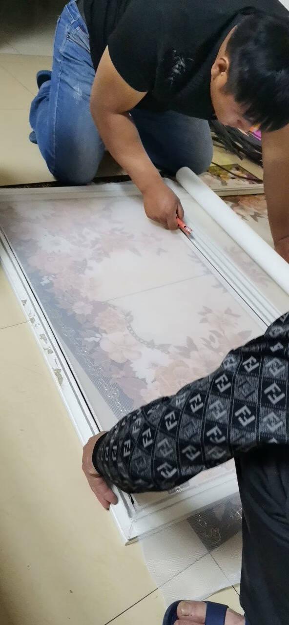 纱窗网门帘防蚊纱网隐形铝合金塑钢窗户加密窗纱门窗网灰色32目加密型1.5*10m