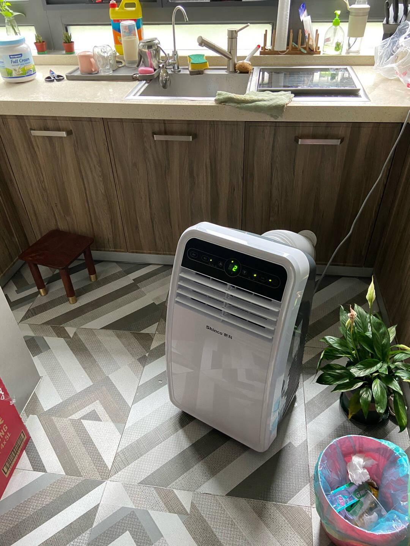 新科(Shinco)移动空调正1P单冷一体机免排水立式免安装出租房制冷量2000w小空调KY-20F2