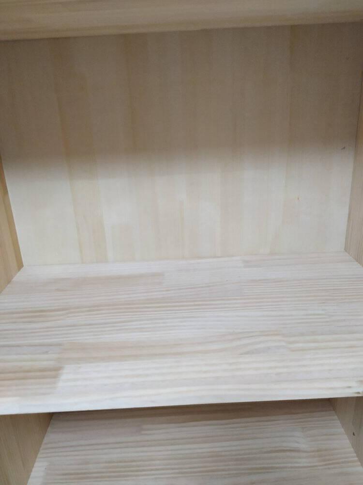 古莉金衣柜实木现代简约衣柜木质大衣柜两门三门四门衣橱卧室组合衣柜主柜4门(包安装)