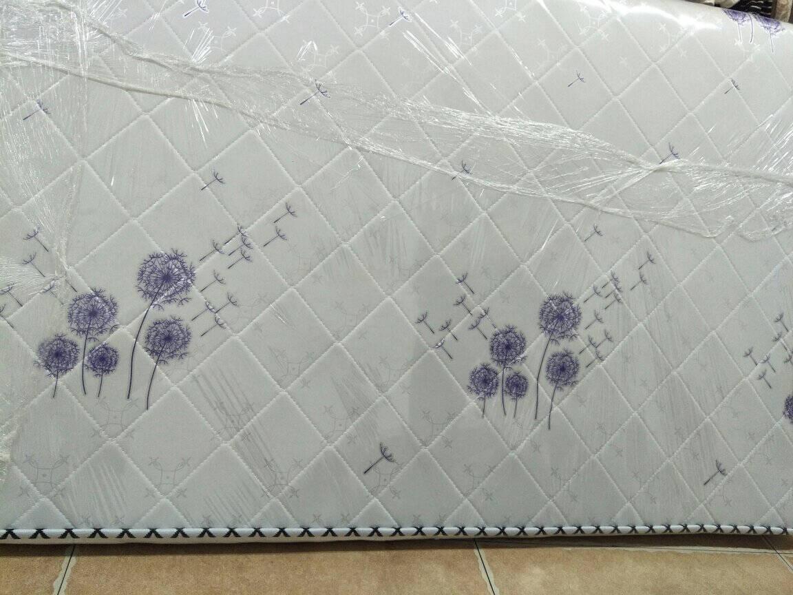 优友思【送货入户】床垫棕垫1.2米单人椰棕床垫1.5米1.8米双人乳胶折叠硬棕垫5CM白色【蒲公英】针织+椰棕1.2米*2米