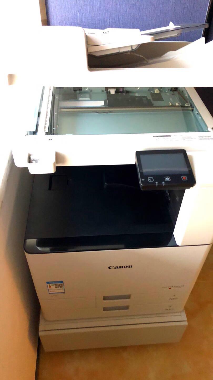 佳能c3120L/c3125/3720彩色打印机a3a4复印机大型办公替代c3020扫描复合机商用3125标配输稿器+原装机柜(25页/分钟新品)