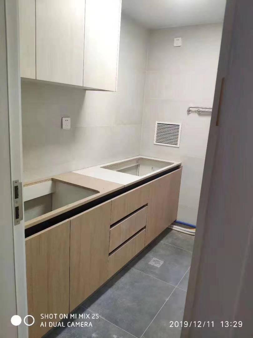 维意定制橱柜定制简易橱柜石英石台面橱柜套餐厨房空间全屋定制咨询客服了解线上设计