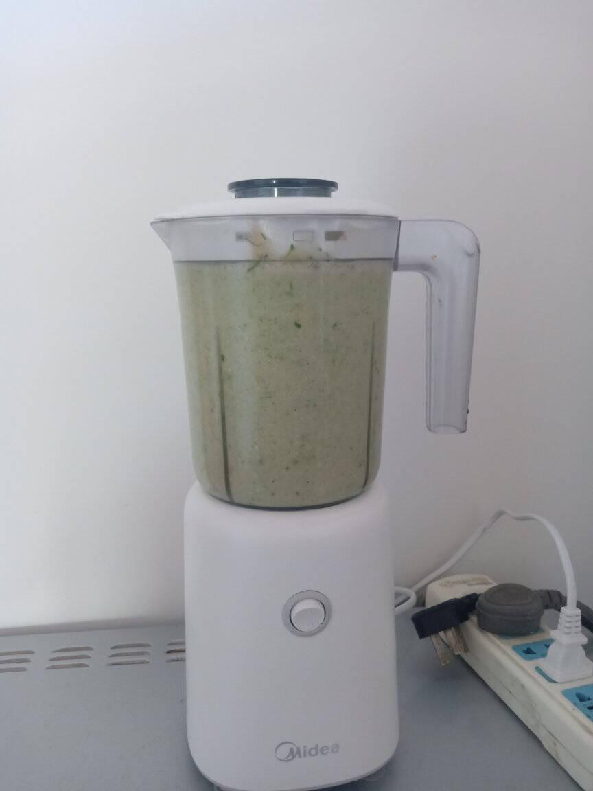 美的(Midea)榨汁机家用多功能料理机婴儿辅食机搅拌机研磨机果汁机LZ25Easy119(搅拌杯+研磨杯+滤网)