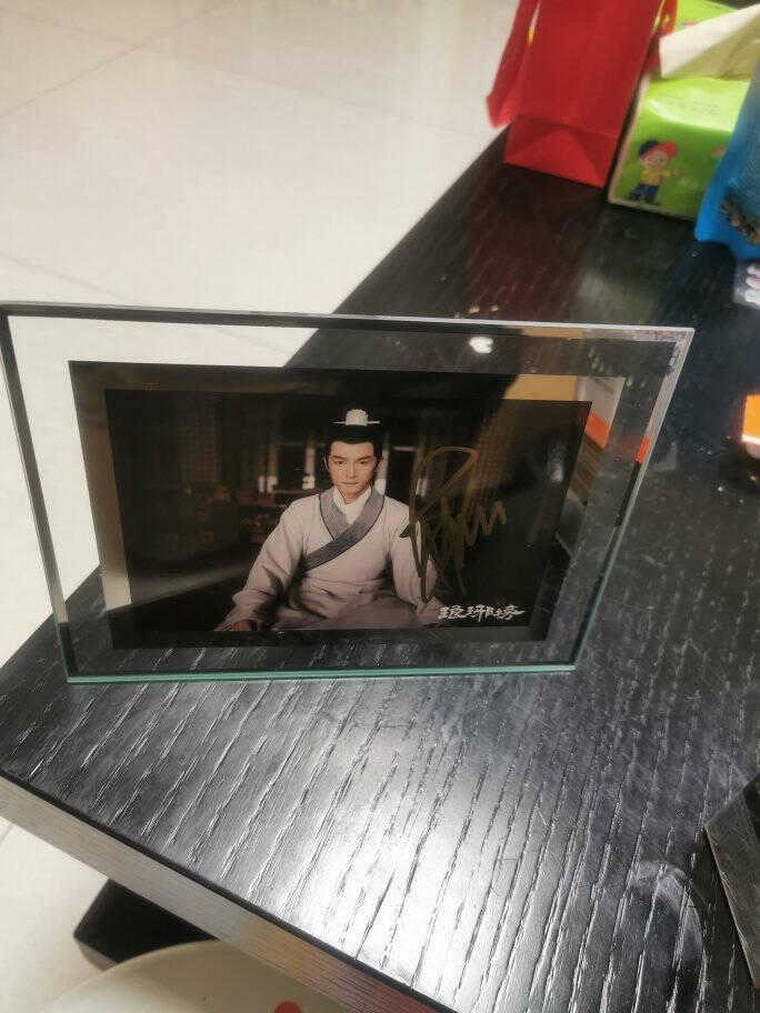 QUATREFOIL相框6寸玻璃画框横竖可摆宝宝儿童照片百岁照婚纱照片摆台