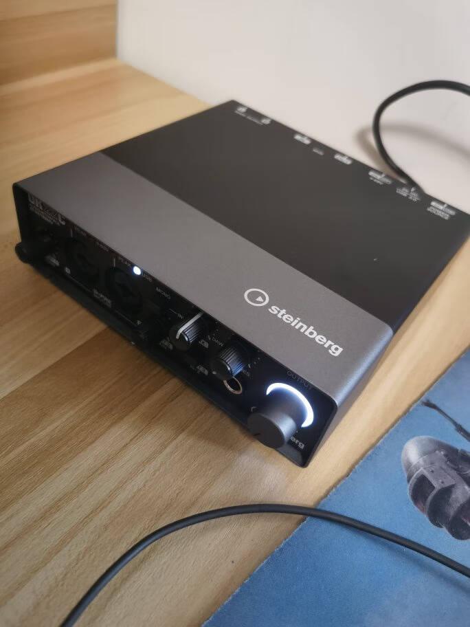 YAMAHA雅马哈UR242USB22C有声书录音专业设备配音外置声卡套装电脑录音棚mkii小说播音雅马哈UR22MKII官方标配