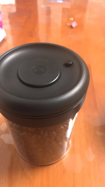 泰摩timemore圆形玻璃抽真空密封罐奶粉茶叶咖啡豆保鲜罐储物罐800ml