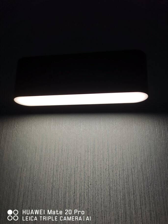 欧普照明LED可旋转墙壁灯客厅灯卧室床头楼梯现代简约壁挂灯BD纯净白【卢卡】自带5瓦LED暖白光光源柔和温