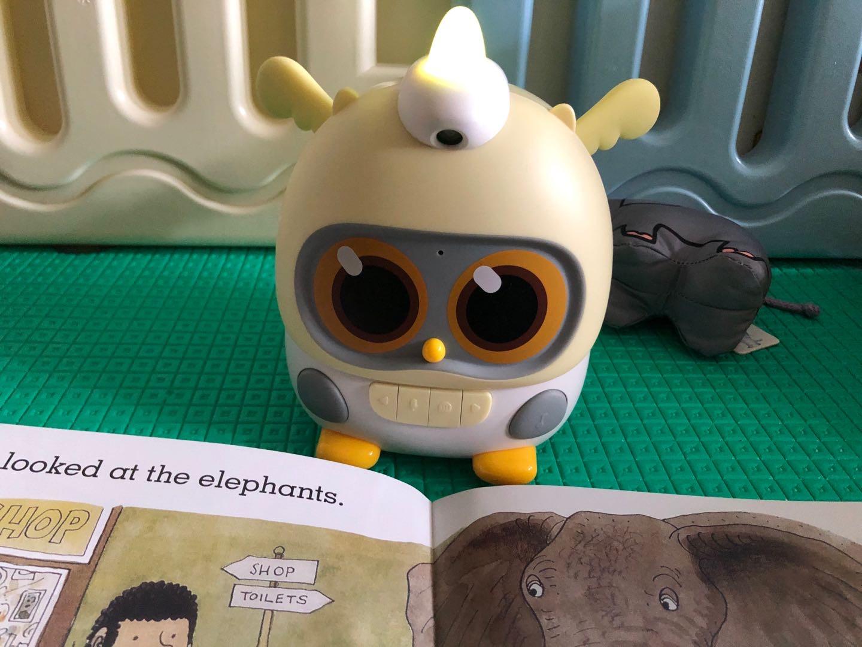 物灵卢卡绘本阅读故事机,新年送孩子好玩益智礼物