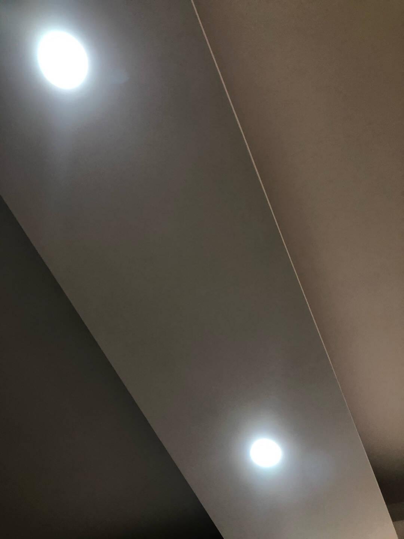 佛山照明(FSL)筒灯LED天花灯防雾灯全白6W3寸正白光6500K钻石三代