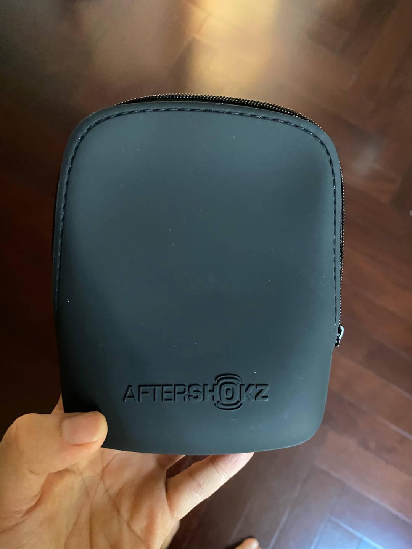 韶音AfterShokzXtrainerzAS700骨传导运动播放器游泳耳机骑行防水MP3星空蓝