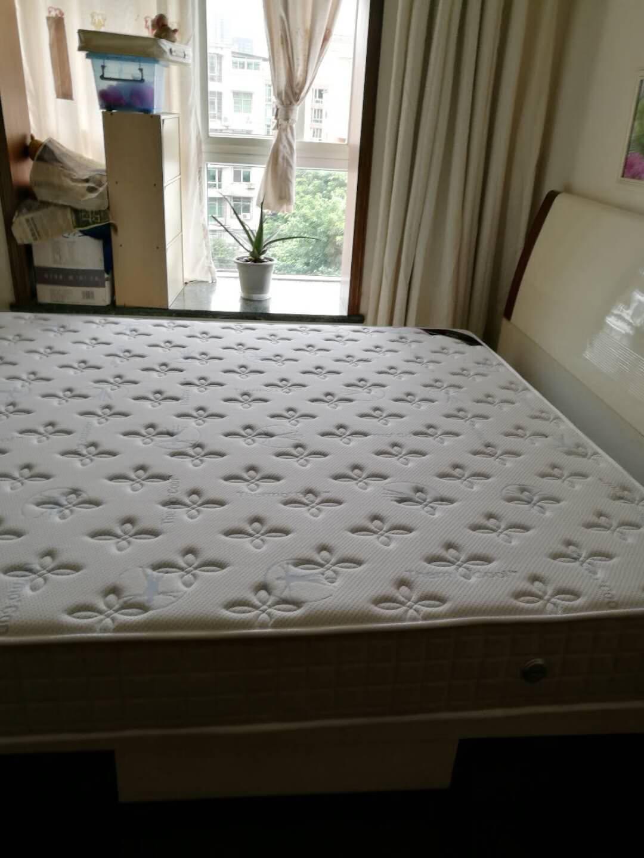 八益(BAYI)天然乳胶床垫3D椰棕弹簧床垫软硬两用席梦思双人床垫可定制H款恒温面料+天然乳胶+环保3E椰棕+独立袋1800*2000