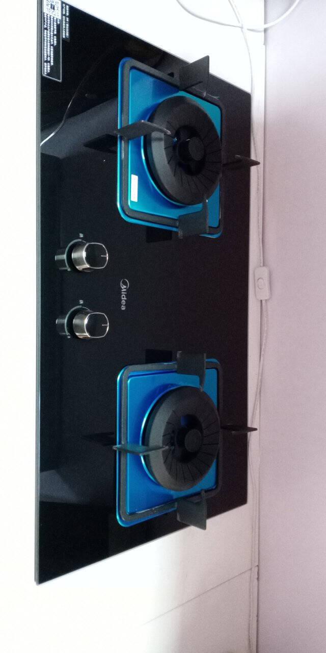 美的(Midea)燃气灶家用5.0KW大火力嵌入式双灶JZY-JDQ1(液化气)