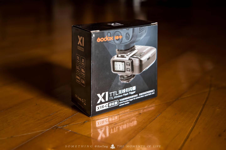 神牛(Godox)X1R-C单接收器2.4G无线引闪器闪光灯触发器佳能版